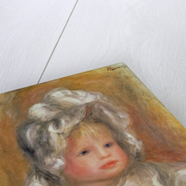 Portrait of a Child by Pierre Auguste Renoir