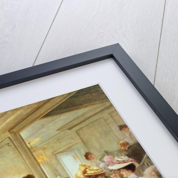 Cinq Heures chez le Couturier Paquin by Henri Gervex