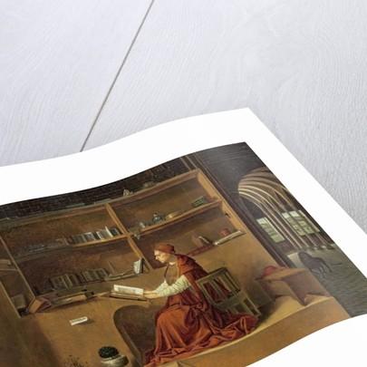 St. Jerome in his study by Antonello da Messina