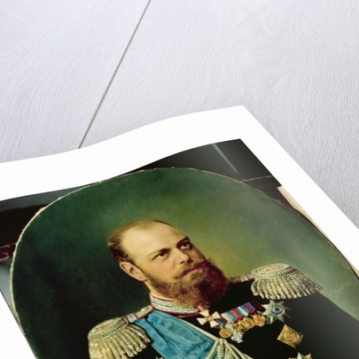 Emperor Alexander III by Andrey Nikolayevich Shilder