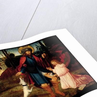 The Healing of Saint Roch by German School
