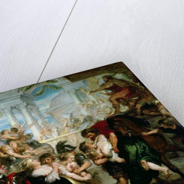 The Rape of the Sabine Women by Peter Paul Rubens