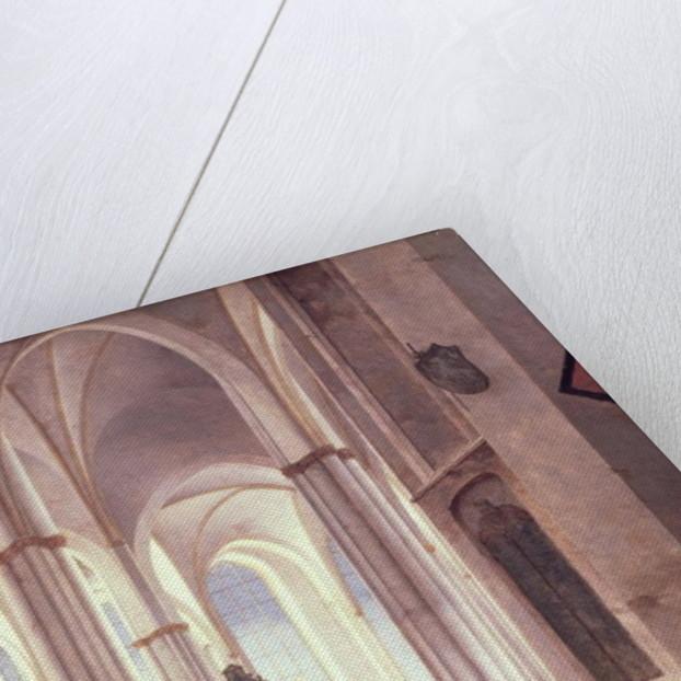 The Interior of the Buurkerk at Utrecht by Pieter Jansz Saenredam