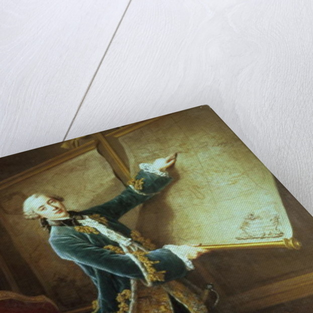 The Comte de Vaudreuil by Francois-Hubert Drouais