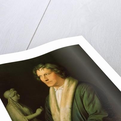 Portrait of the sculptor Bertel Thorvaldsen by Karl Joseph Begas