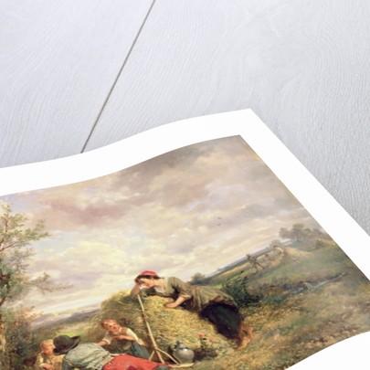 Haymaking by Jan Mari Henri Ten Kate
