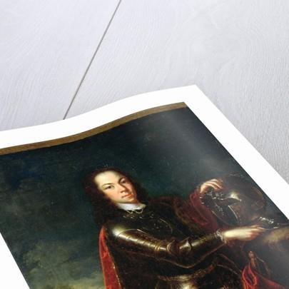 Portrait of Tsarevich Alexei Petrovich of Russia by Johann Paul Luedden