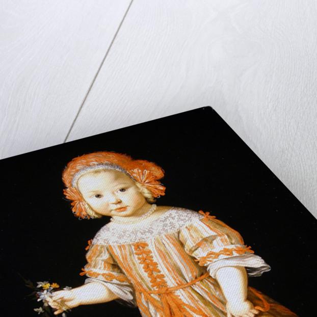 Portrait of a girl by Dutch School
