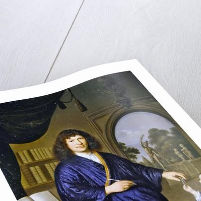 A portrait of a gentleman by Pieter van Slingelandt