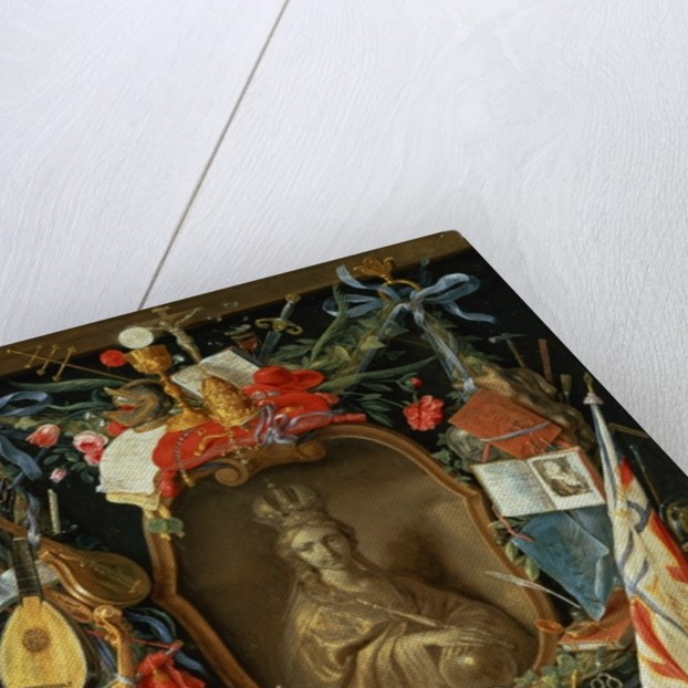 Ecclesia Surrounded by Symbols of Vanity by Jan van