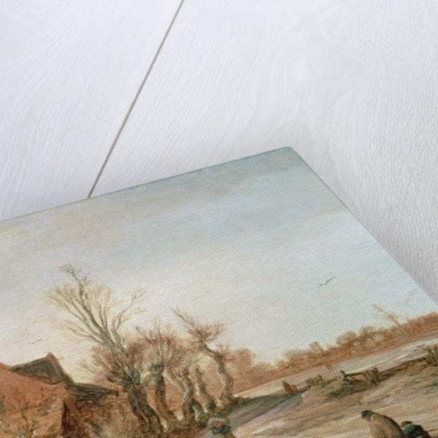 Winter Landscape by Esaias I van de Velde