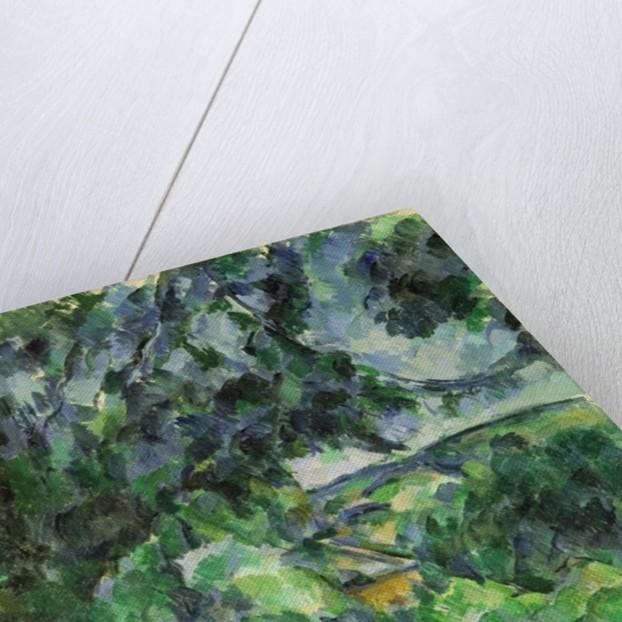 Blue Landscape by Paul Cezanne