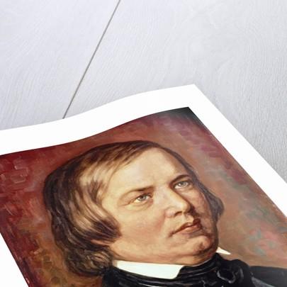 Portrait of Robert Schumann by Gustav Zerner