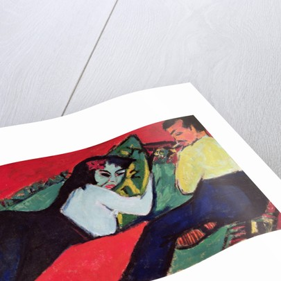 Recumbent Woman by Ernst Ludwig Kirchner