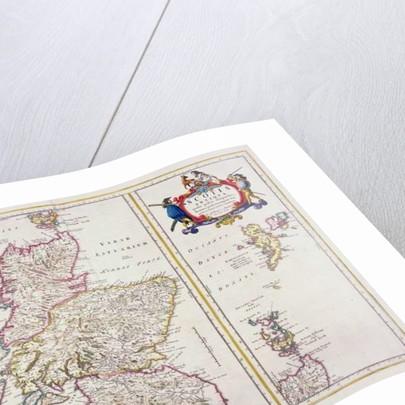 Map of Scotland by R. Gordon