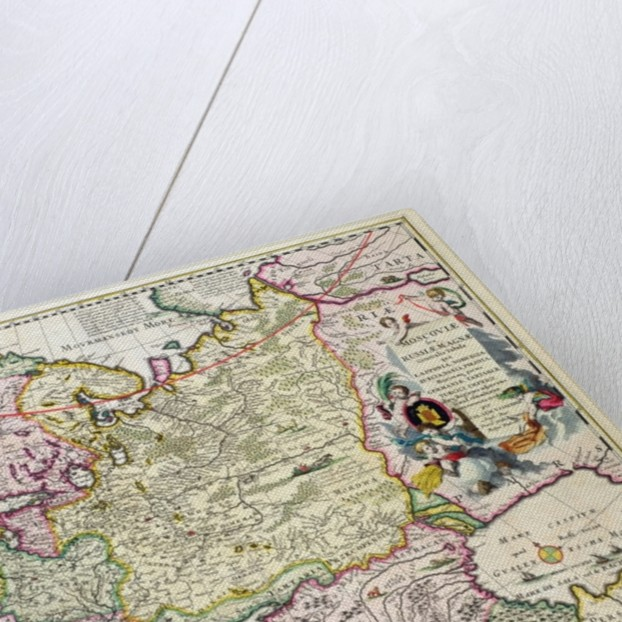 Map Of Asia Minor Showing Norway Sweden Denmark Lapland Poland - Sweden lapland map