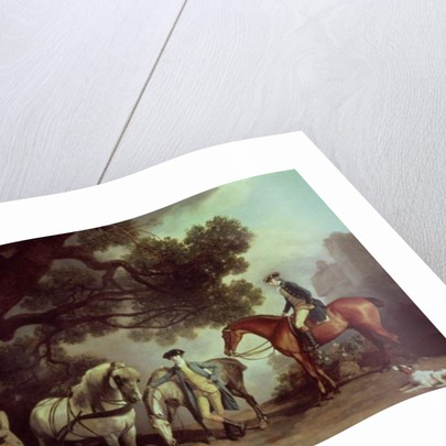 Melbourne and Milbanke Families by George Stubbs