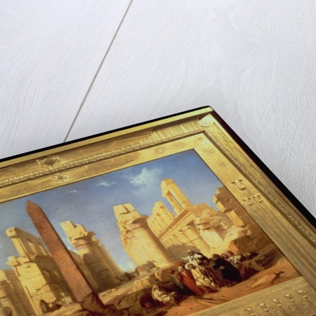The Ruins of the Palace of Karnak at Thebes by Jacob Jacobs