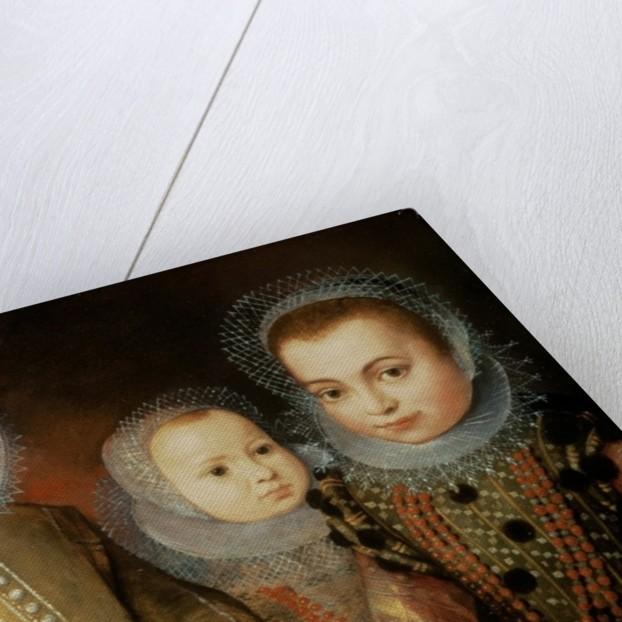 Portrait of Three Tudor Children by F.F.