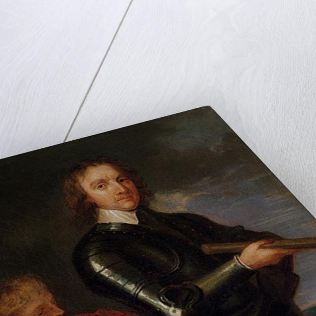 Portrait of Oliver Cromwell by Robert Walker