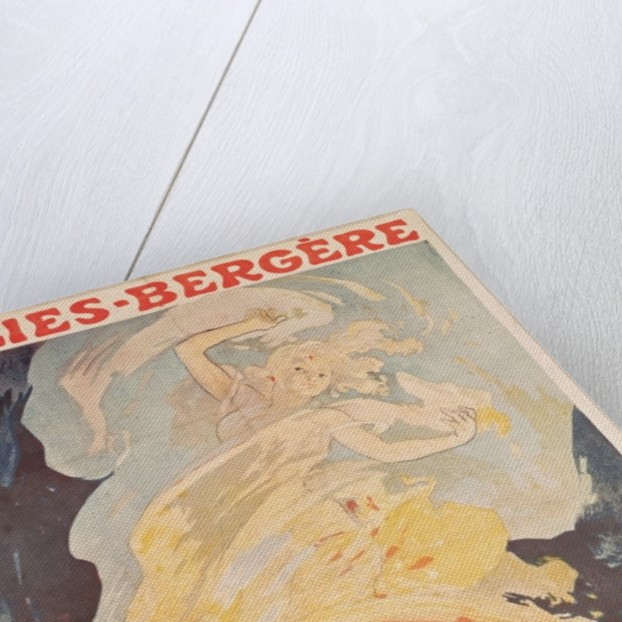 Folies Bergere: la Danse du Feu by Jules Cheret