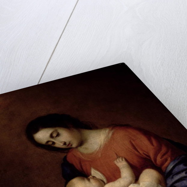 Virgin and Child by Francisco de Zurbaran