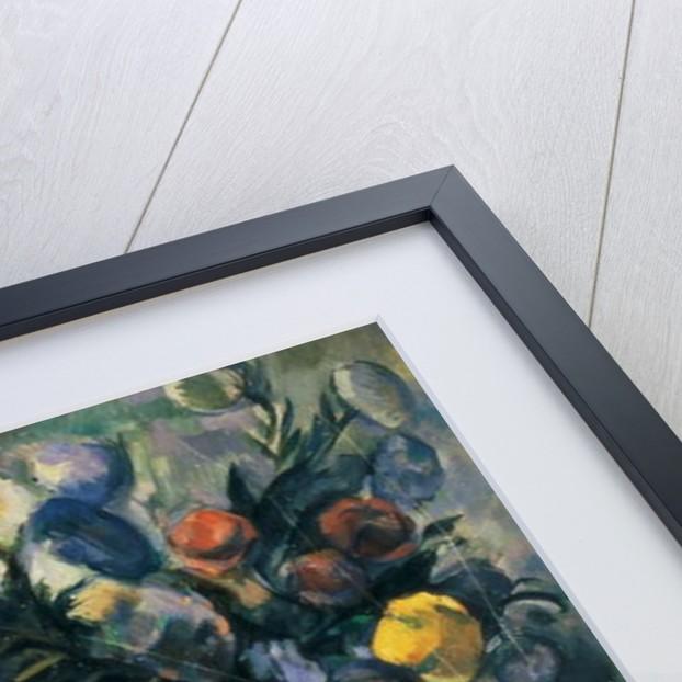 Vase of Flowers, 19th by Paul Cezanne