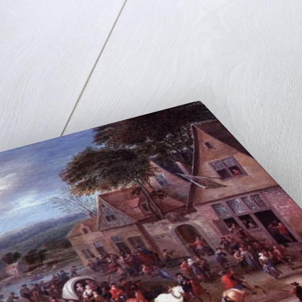 A Village Fair by Mathys Schoevaerdts