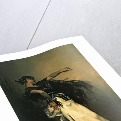 The Spanish Dancer, study for 'El Jaleo' by John Singer Sargent