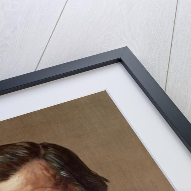 Portrait of Thomas Henry Huxley by Alphonse Legros