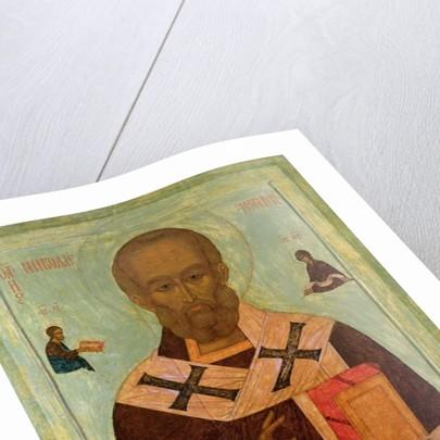 Icon of St. Nicholas by Russian School