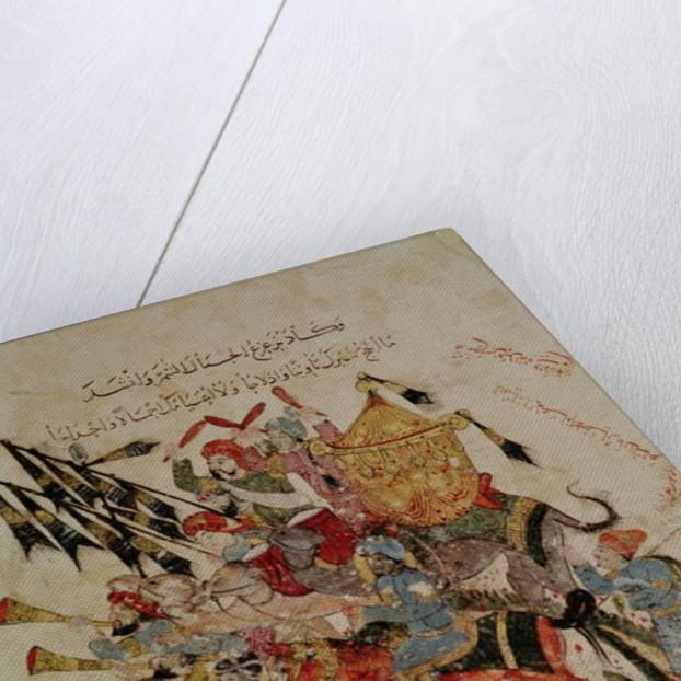 Caravan going to Mecca by Persian School