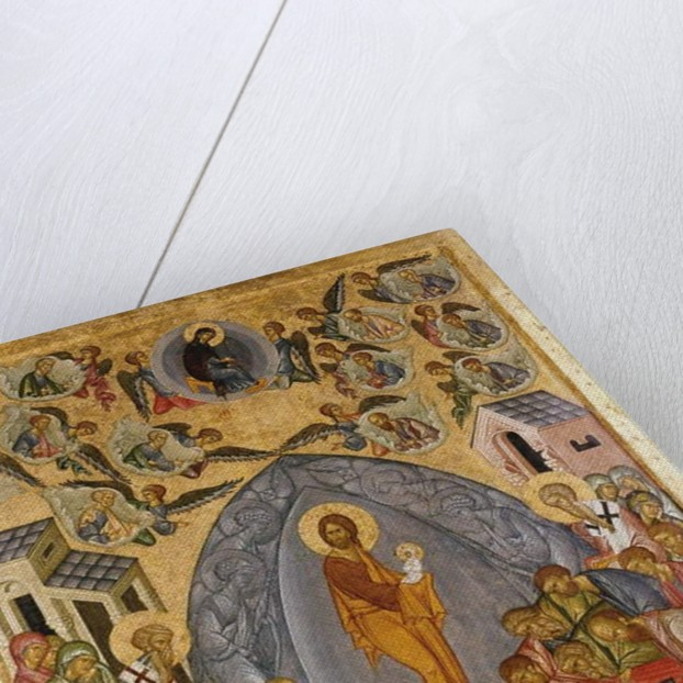Dormition of the Mother of God, 1500-25 by Russian School