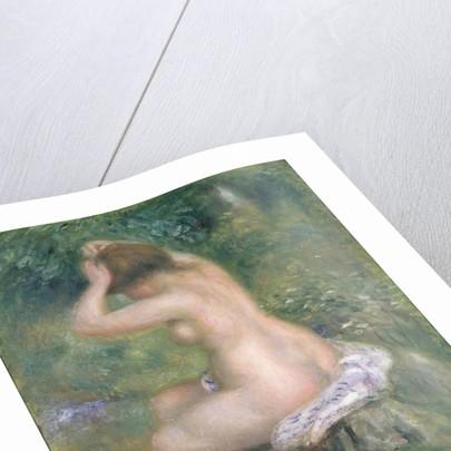 A Bather by Pierre Auguste Renoir