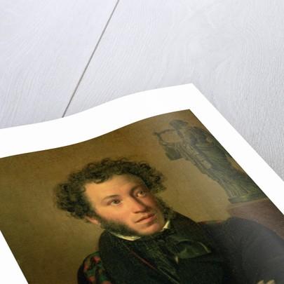 Portrait of Alexander Pushkin by Orest Adamovich Kiprensky