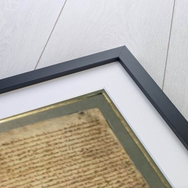 Magna Carta, the final version issued in 1225 by Henry III by English School