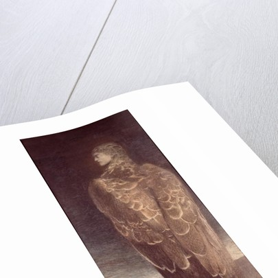 Sleeping Medusa by Fernand Khnopff