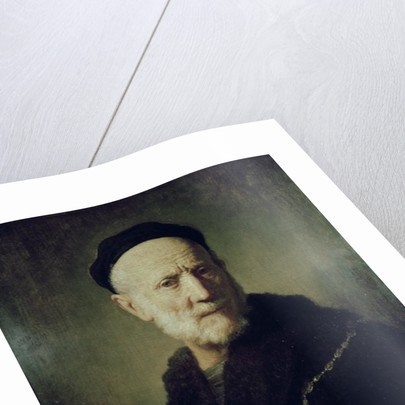Portrait of Rembrandt's Father by Rembrandt Harmensz. van Rijn