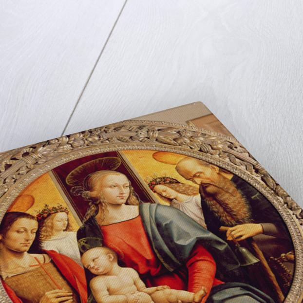 Virgin and Child by Pietro Perugino