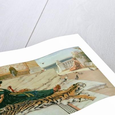 The Tiger Skin by John William Godward
