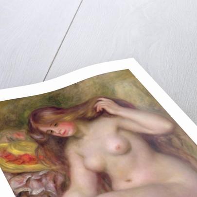 Bather by Pierre Auguste Renoir