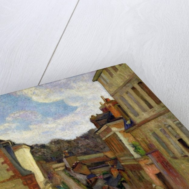 A Suburban Street by Paul Gauguin