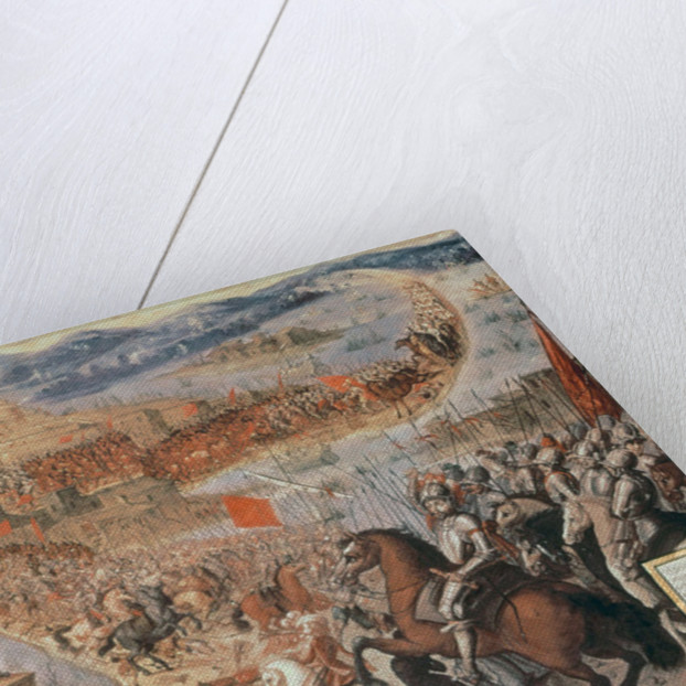 The Conquest of Tenochtitlan by Spanish School