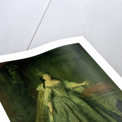 Portrait of the Empress Anna Ivanovna by Louis Caravaque