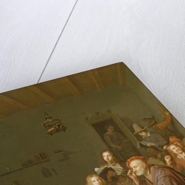 Interior of a School Room by Pieter Harmansz Verelst