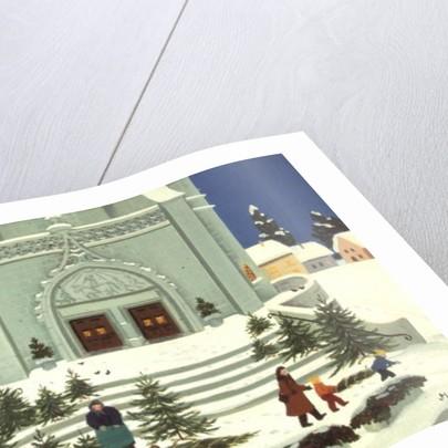 Christmas Tree Selling by Magdolna Ban