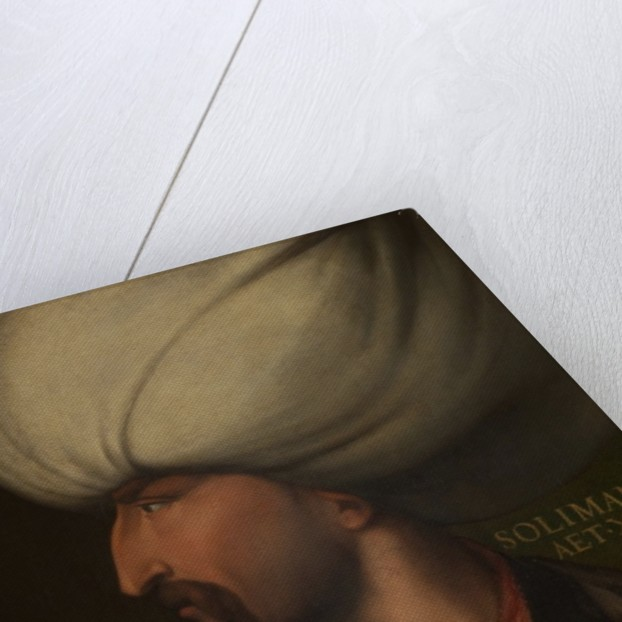 Portrait of Suleiman the Magnificent by Cristofano dell' Altissimo