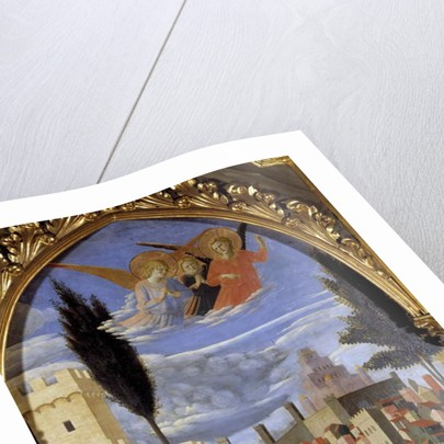 The deposition of the cross or Pala di Santa Trinita by Fra Angelico