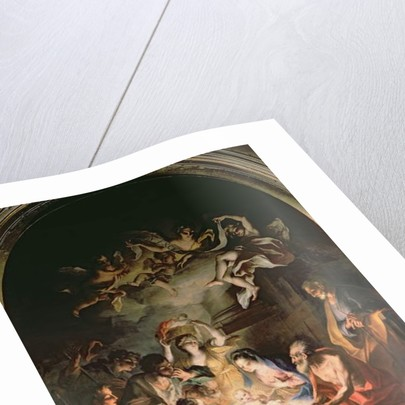 Nativity with St. Jerome by Stefano Maria Legnani