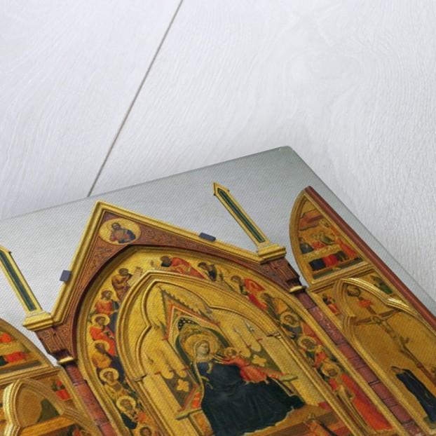 Madonna and Child with Saints by Bernardo Daddi